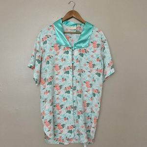 Vintage Victoria's Secret Button Front Sleep Shirt